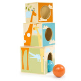 Skip Hop Giraffe Safari Nest & Play Blocks