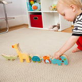 Skip Hop Giraffe Safari Stacking Animal Blocks