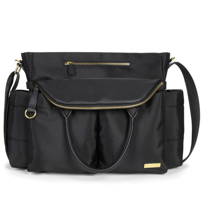 Skip Hop Black Chelsea Downtown Chic Bag