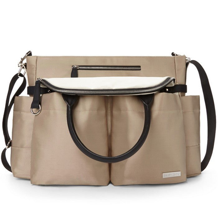 Skip Hop Champagne Chelsea Downtown Chic Bag