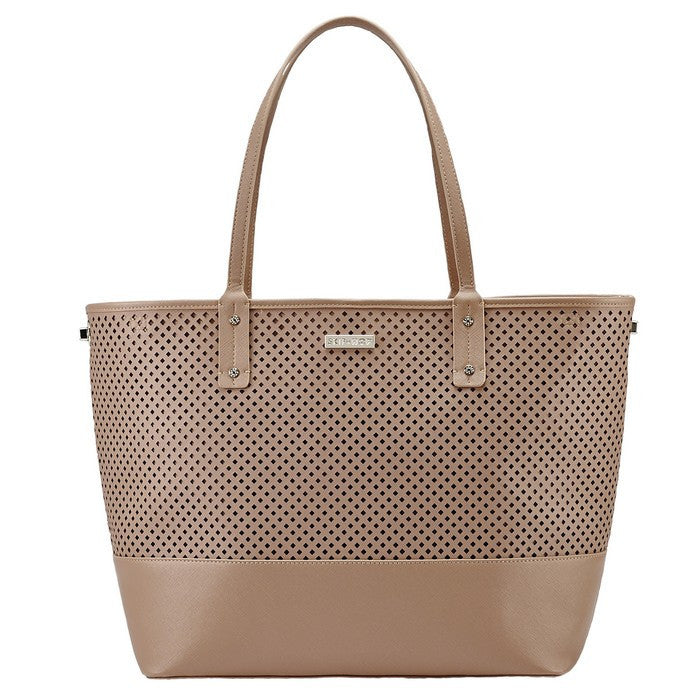 Skip Hop Duet Tote- Taupe