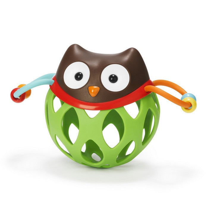 Skip Hop Roll-Around Rattle- Owl