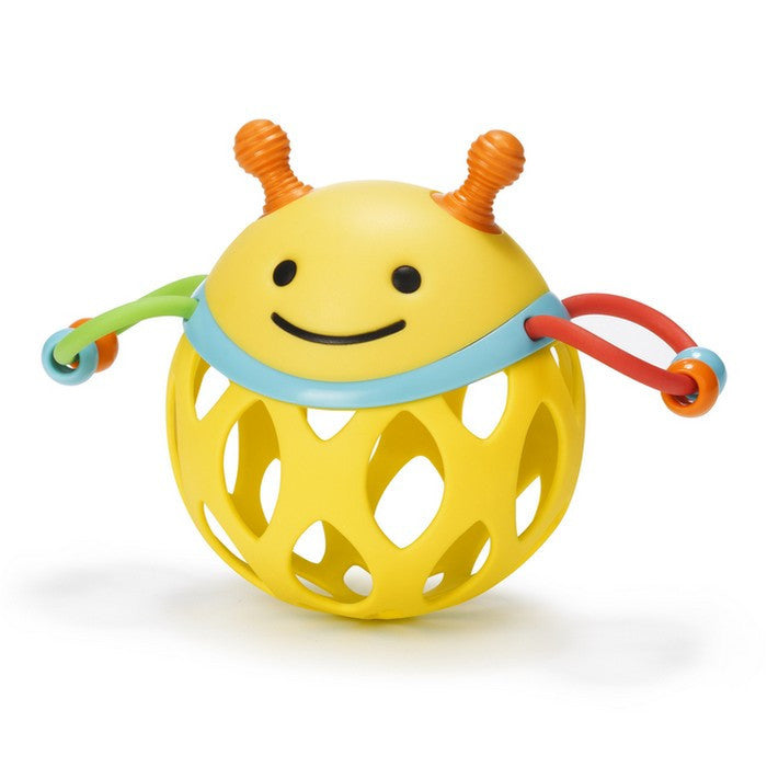 Skip Hop Roll-Around Rattle- Bee
