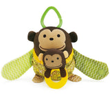 Skip Hop Monkey Hug & Hide Stroller Toy