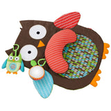 Skip Hop Treetop Friends Owl Tummy Time Mat