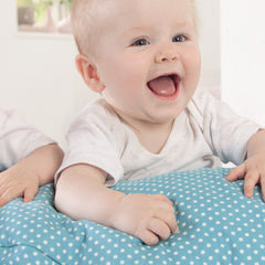 Theraline Maternity Cushion - Dotty Blue