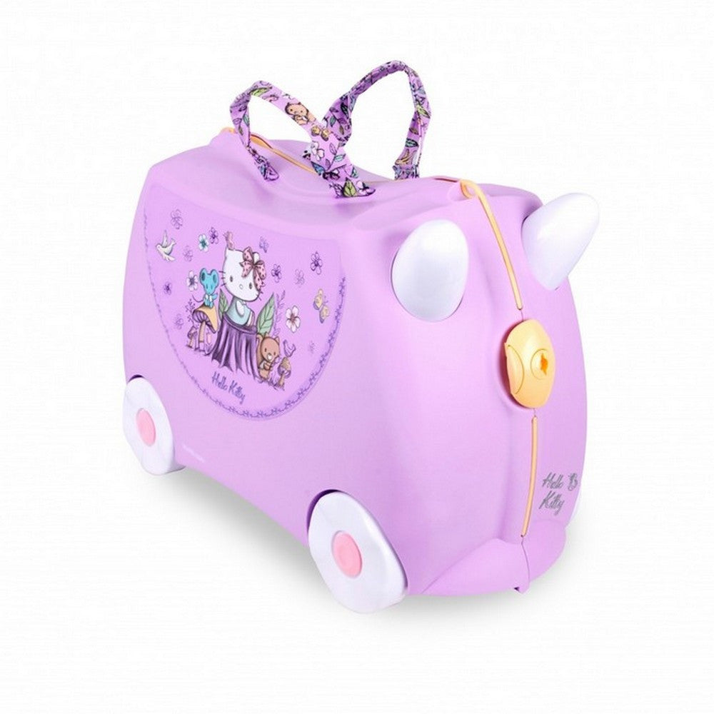 Trunki Ride on Suitcase Hello Kitty Lilac