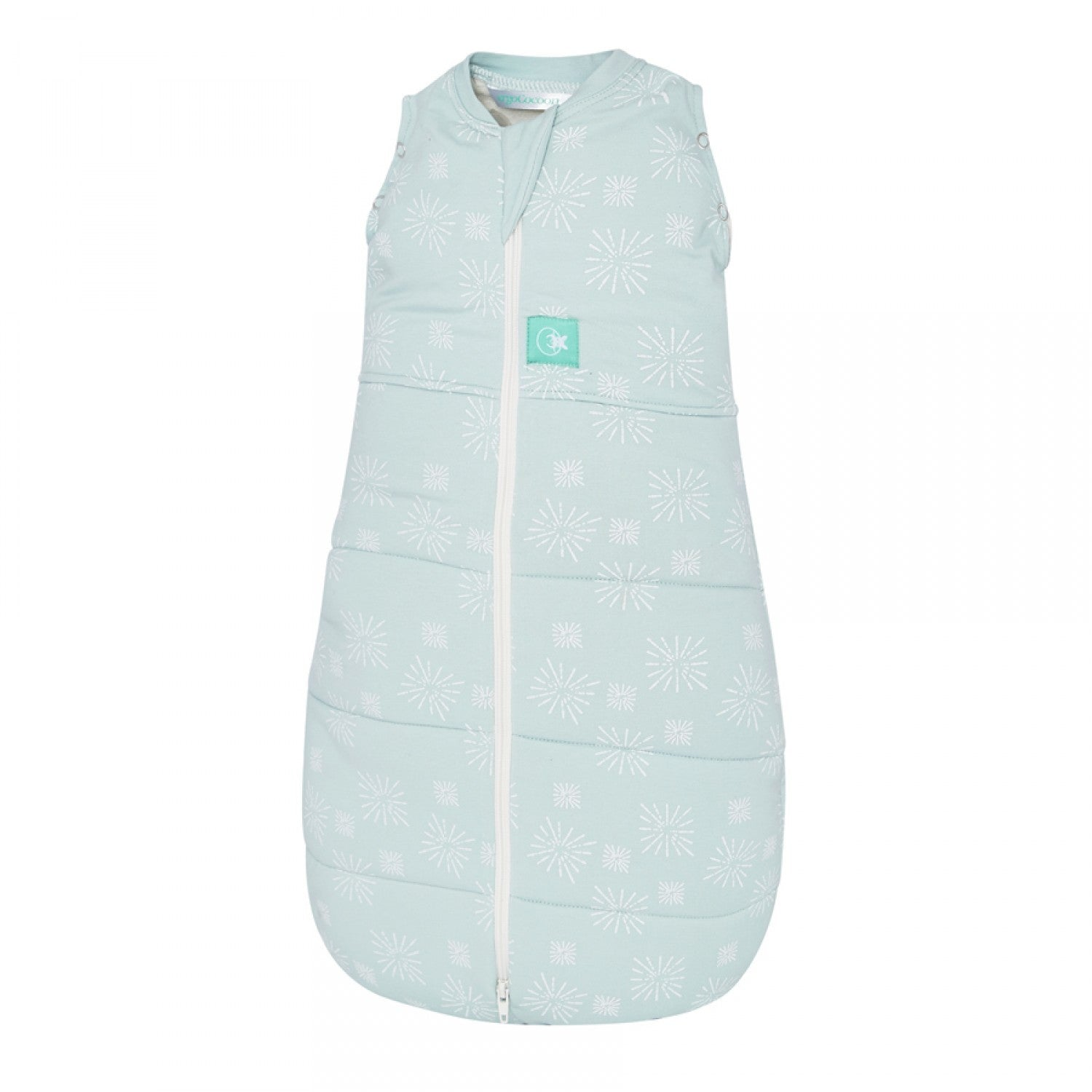 ergoCocoon Winter Swaddle and Sleep Bag (2.5 tog) - Mint Star