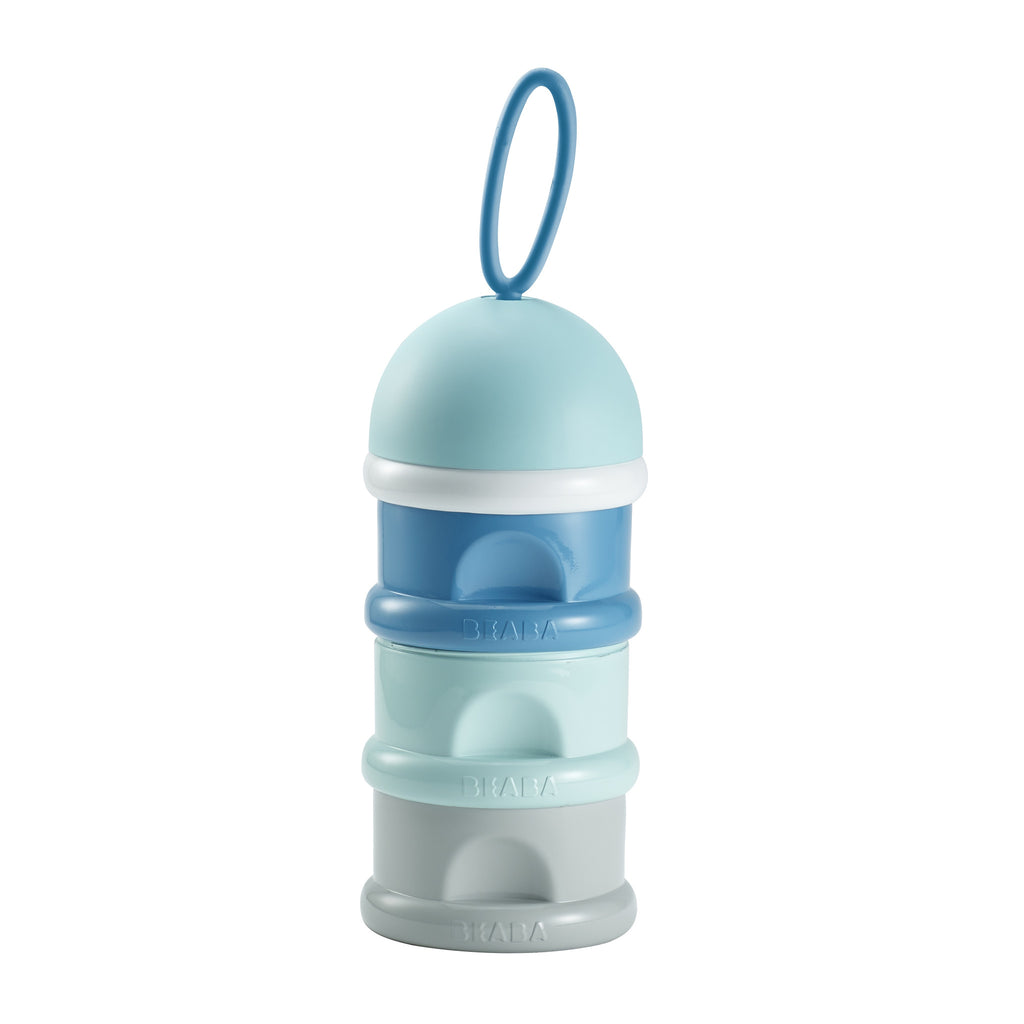 BEABA Stacked Formula Milk Container Blue
