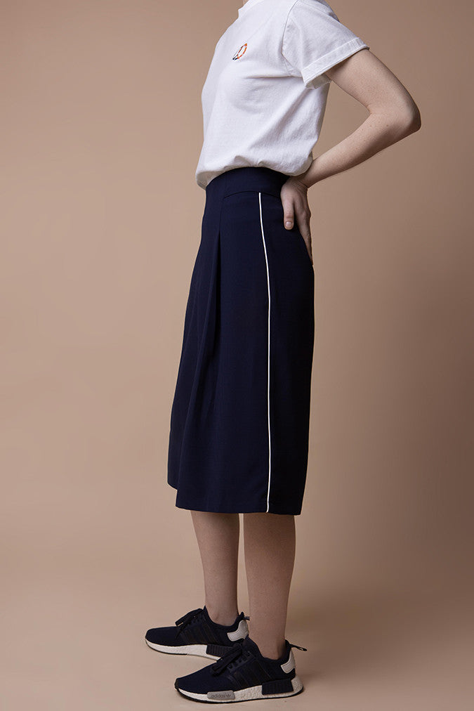 Classic Navy Culottes