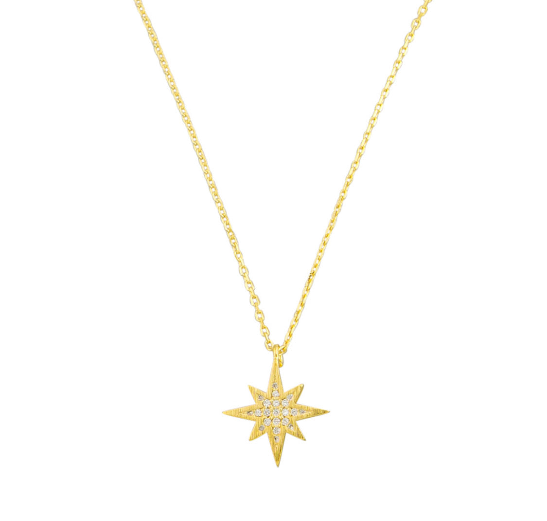 Jolie and Deen Spark necklace