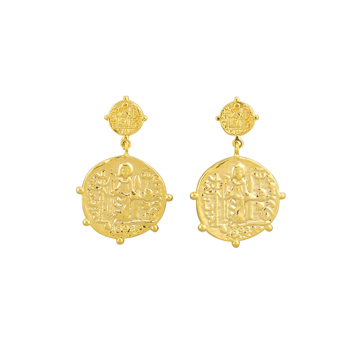 Jolie and Deen Marisa earrings