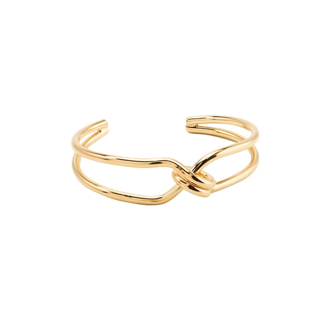 Jolie and Deen Twisted Loop Cuff