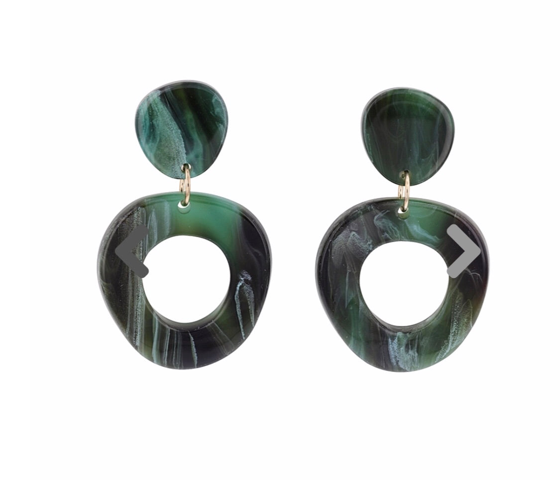 Jolie and Deen Alma Resin Earrings
