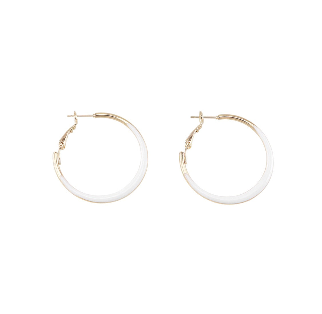 Jolie and Deen Jean hoops