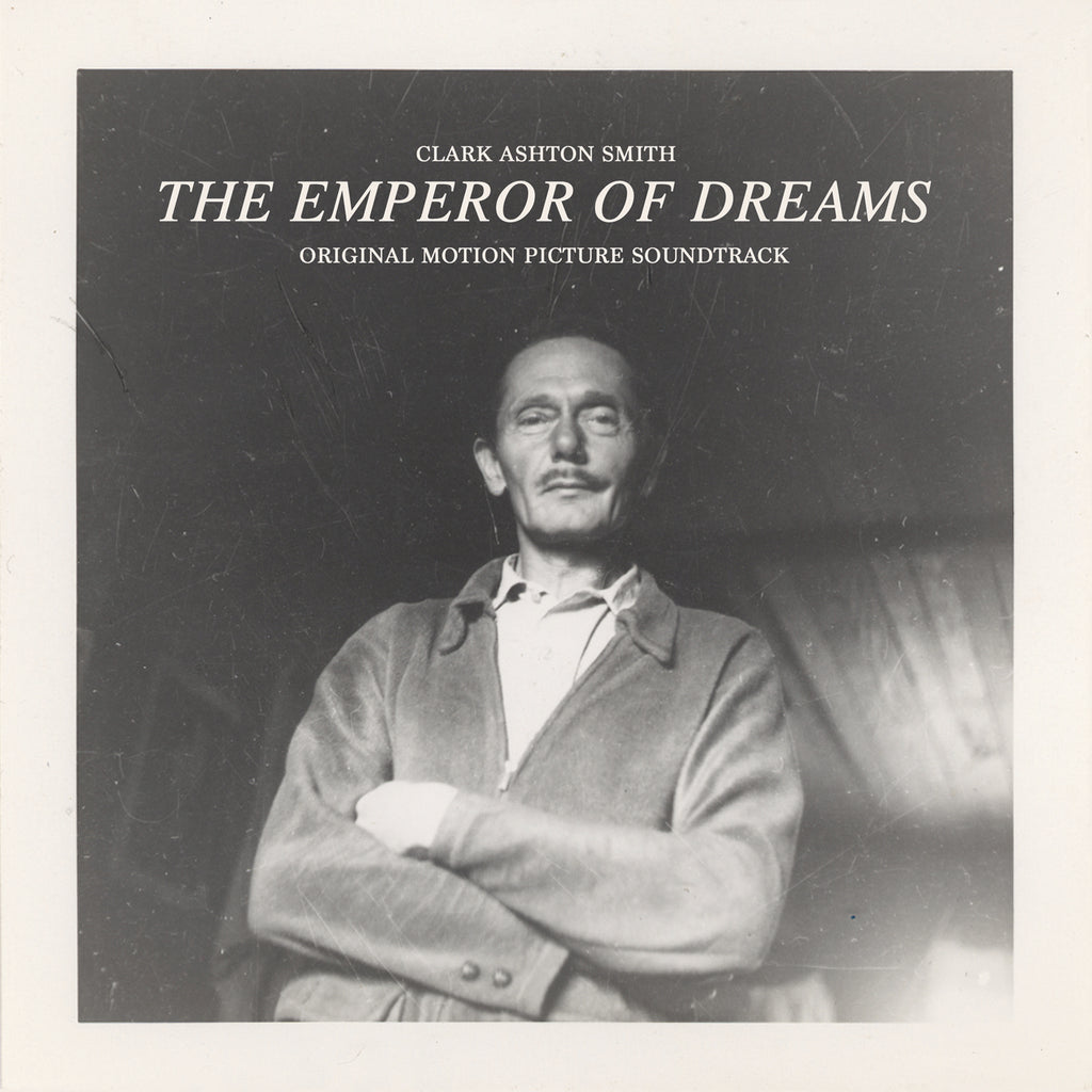 Clark Ashton Smith The Emperor of Dreams original motion picture soundtrack LP - clear vinyl