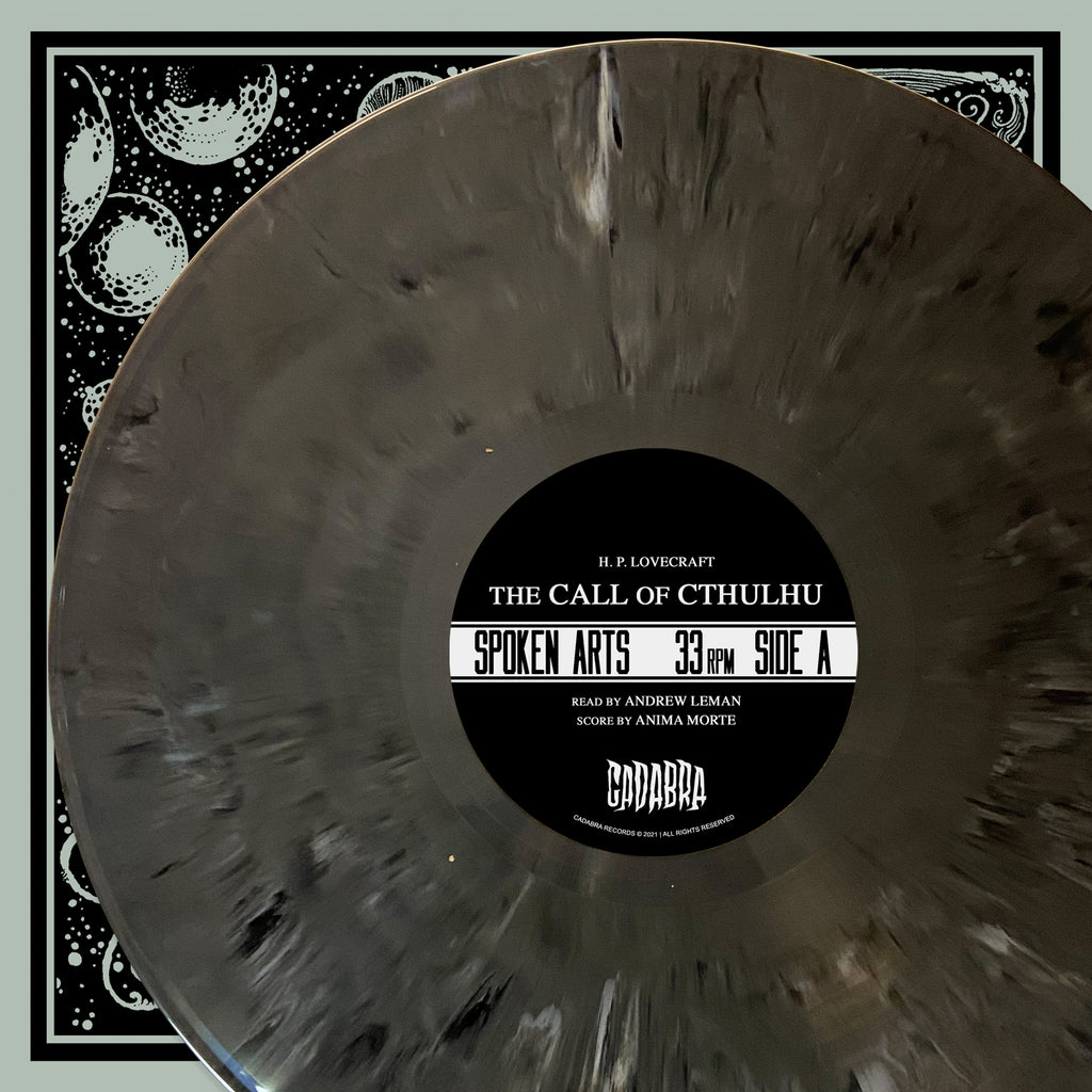 "H. P. Lovecraft's, The Call of Cthulhu 2x LP - Read by Andrew Leman, Score by Anima Morte -""Horror in Clay"" Variant"