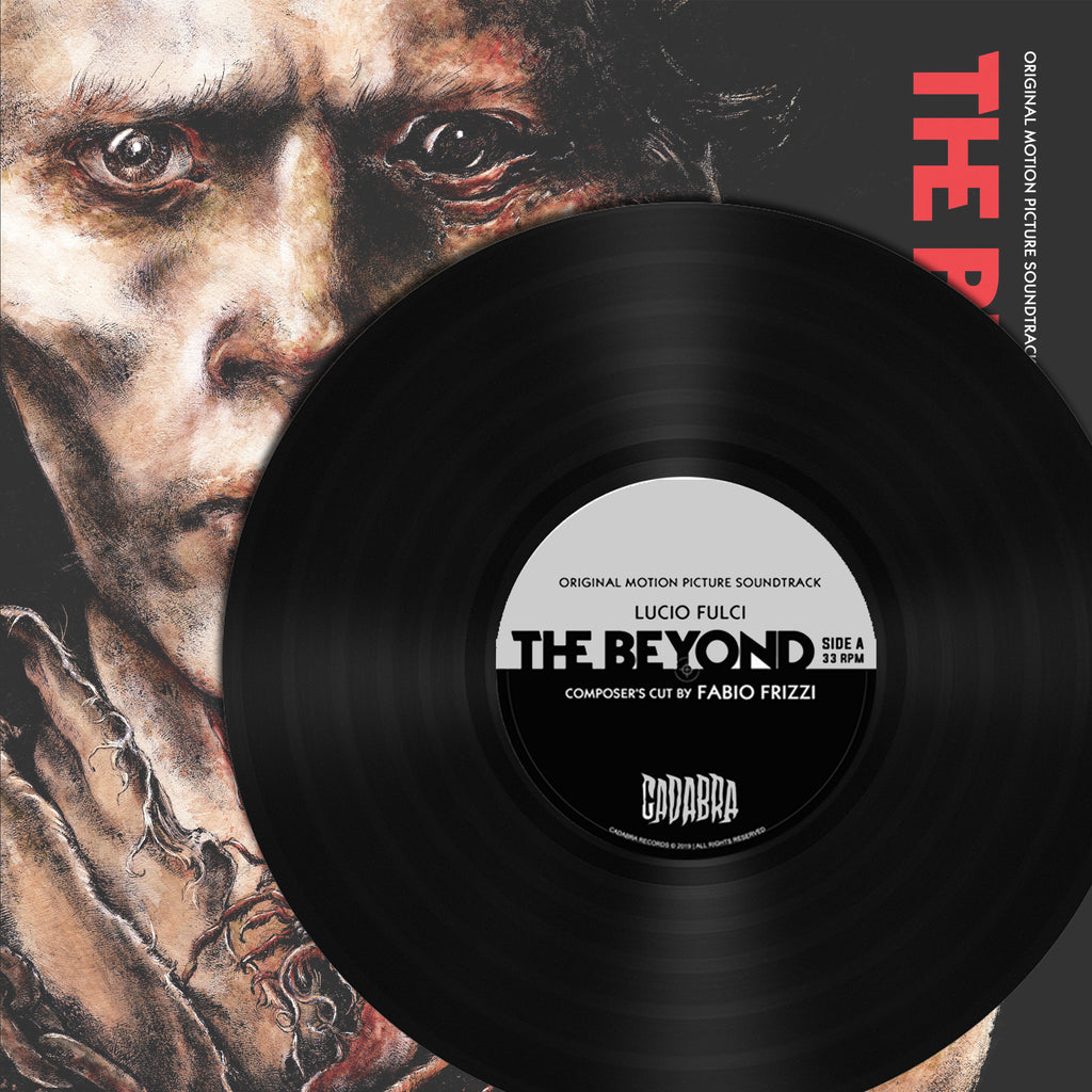 Lucio Fulci - The Beyond Composer's Cut by Fabio Frizzi - Shadows of Eibon Variant (180 gram audiophile black vinyl)