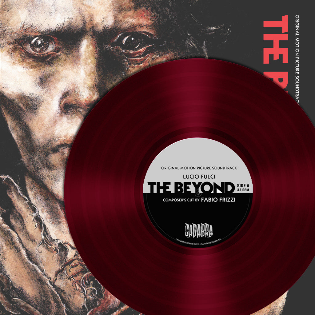 Lucio Fulci - The Beyond Composer's Cut by Fabio Frizzi - Blood of Eibon Variant (Transparent Red Vinyl)