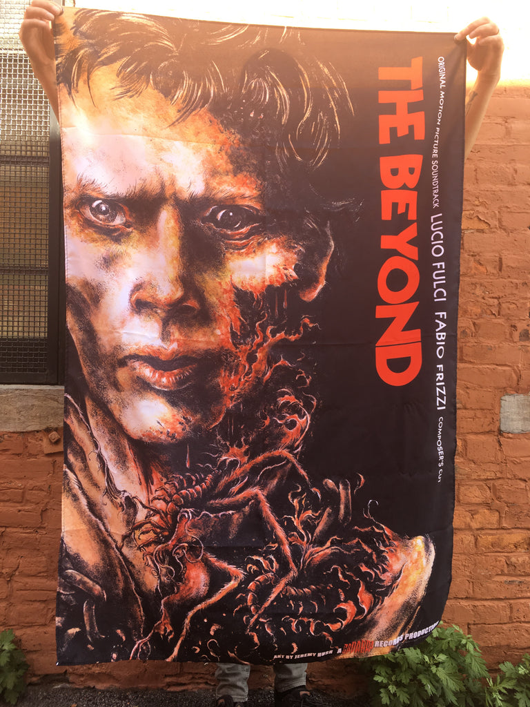 Lucio Fulci's The Beyond Composer's Cut by Fabio Frizzi CLOTH BANNER