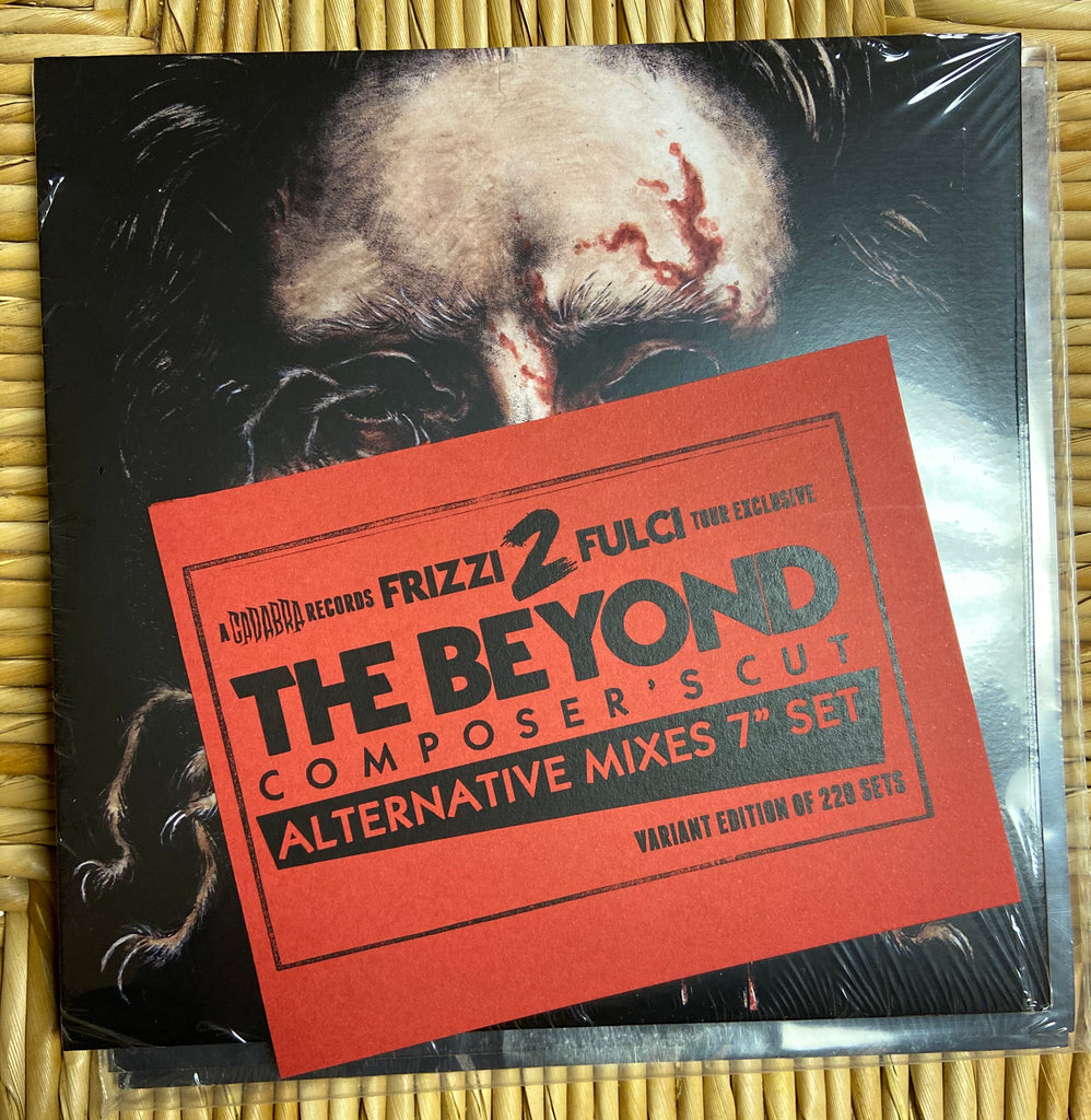 "Lucio Fulci - The Beyond Composer's Cut Alternative Mixes 3x 7"" Set by Fabio Frizzi Tour edition - Variant edition of 220x copies"