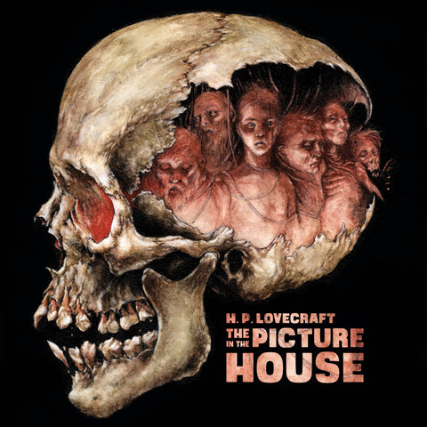 H. P. Lovecraft's, The Picture in the House LP - Read by Andrew Leman, Score by  Fabio Frizzi - ANZIQUE BONE CRUSHER VARIANT