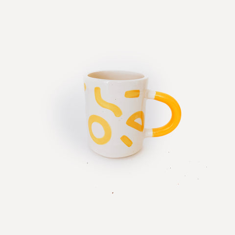 Second - Mono Yellow Mug
