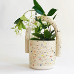 Double Sprinkles Bucket Vase