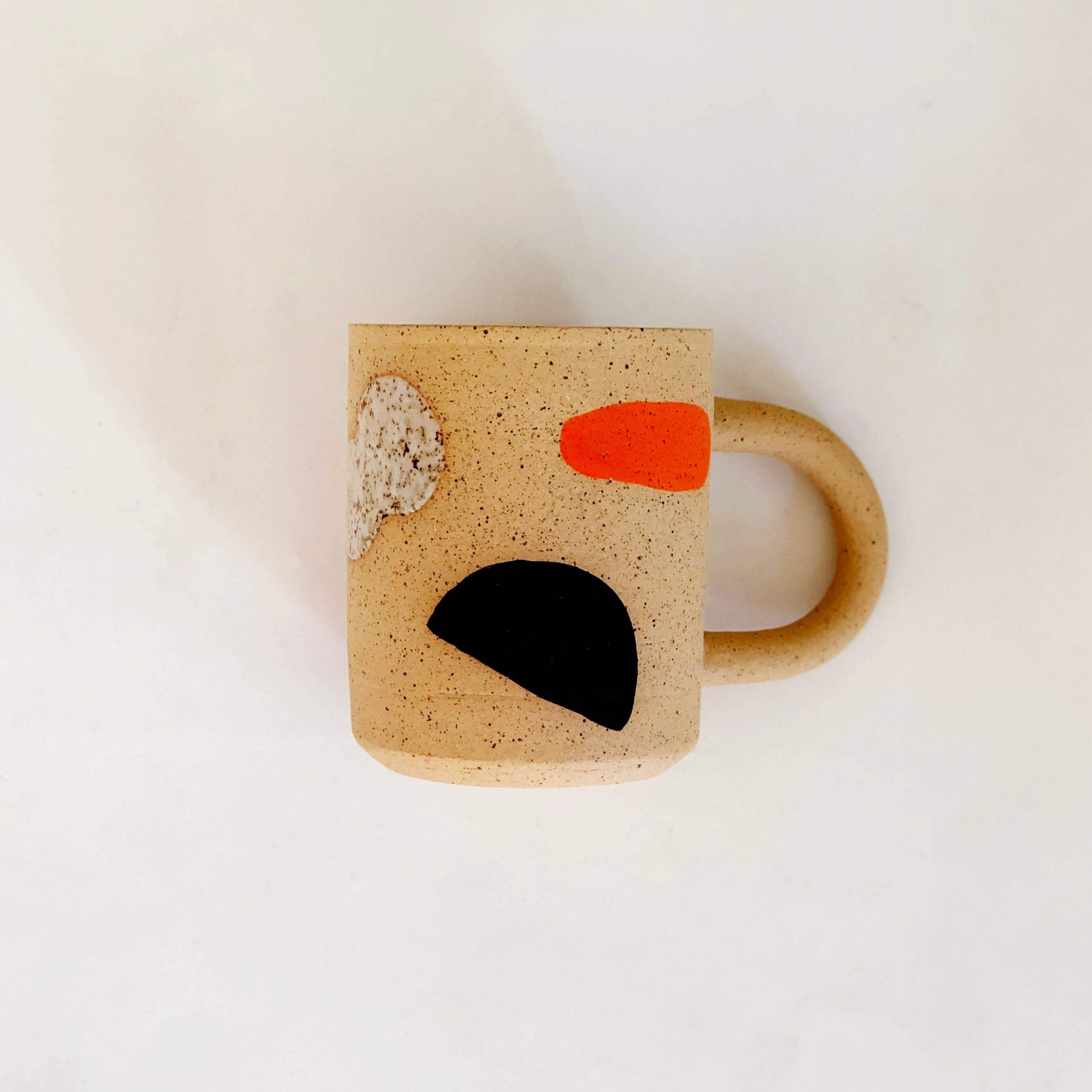 Large Fruity Landscape on Speckles Mug