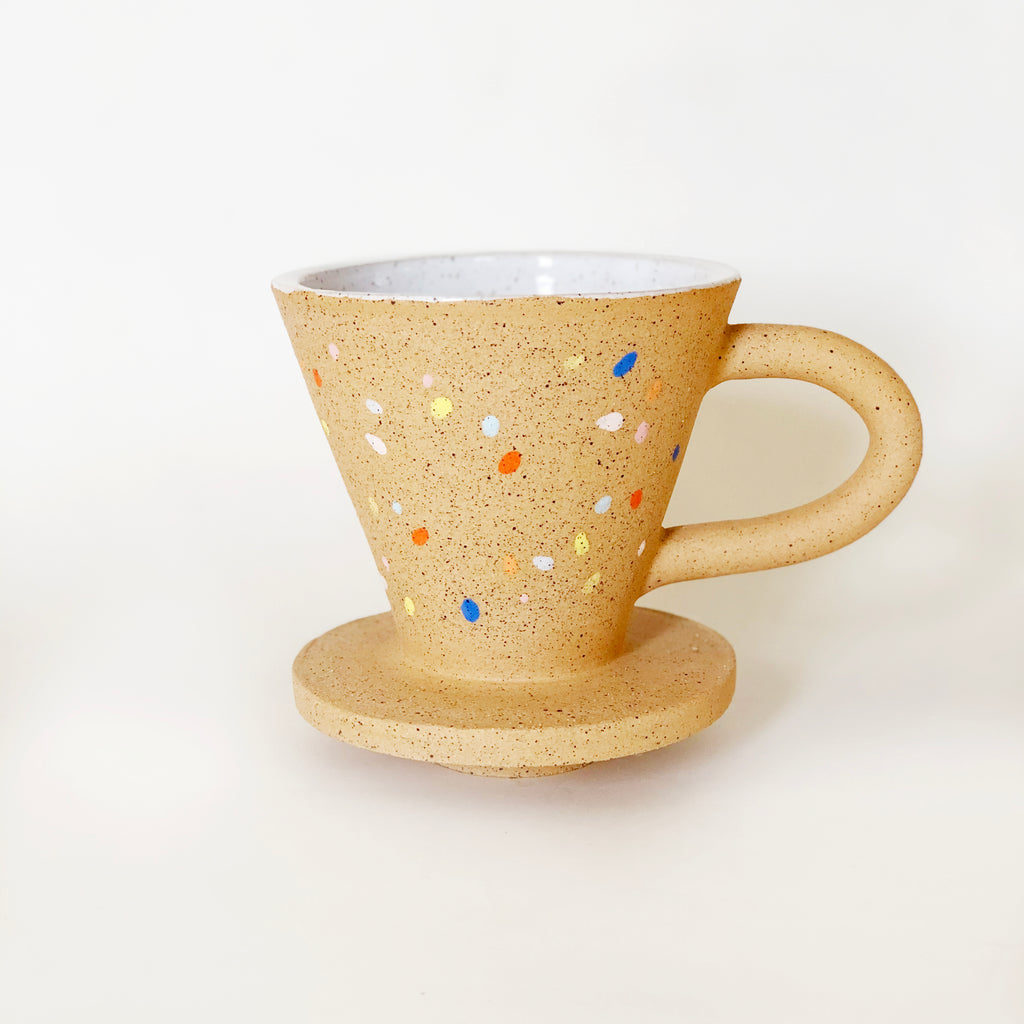 Sprinkles on Speckles Pour Over Coffee Dripper
