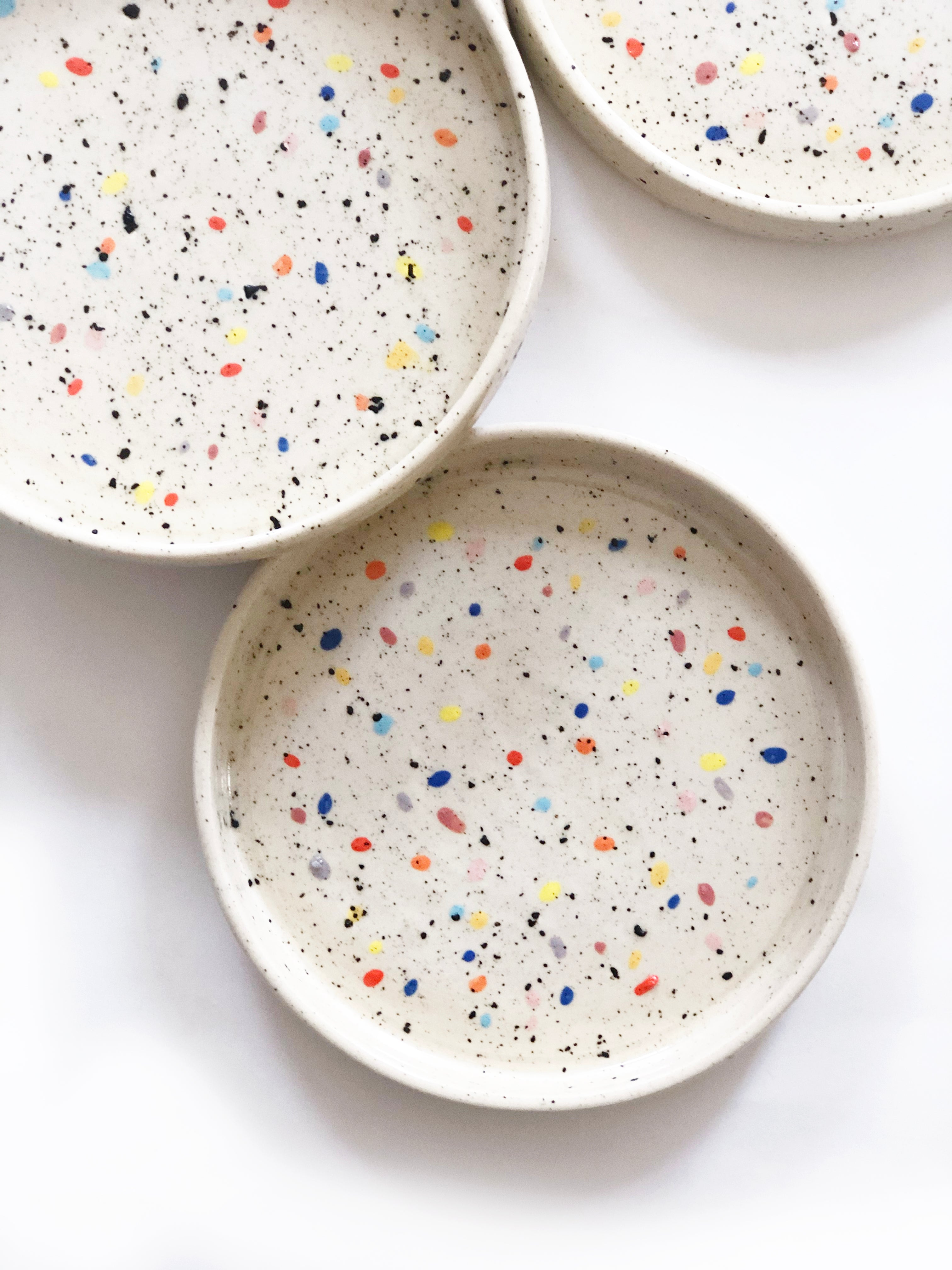 Double Sprinkles Plate
