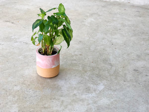 Marble Pink Planter