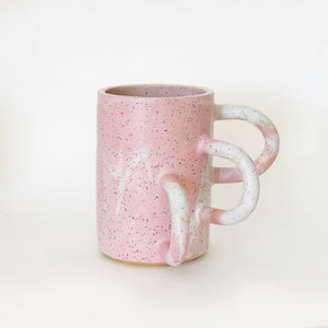 Marble Pink Lucy Vase