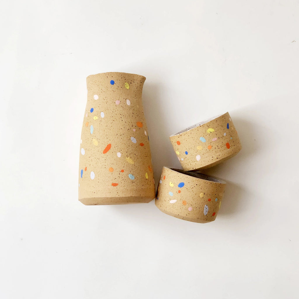 Sprinkles on Speckles Sake set