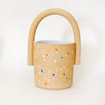 Sprinkles Speckles Bucket Vase