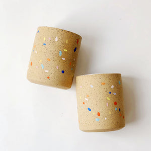 Large Sprinkles on Speckles Cup (no handles)
