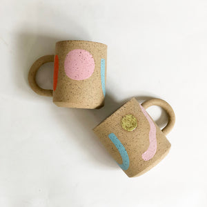 Large Holidays on Speckles Mug