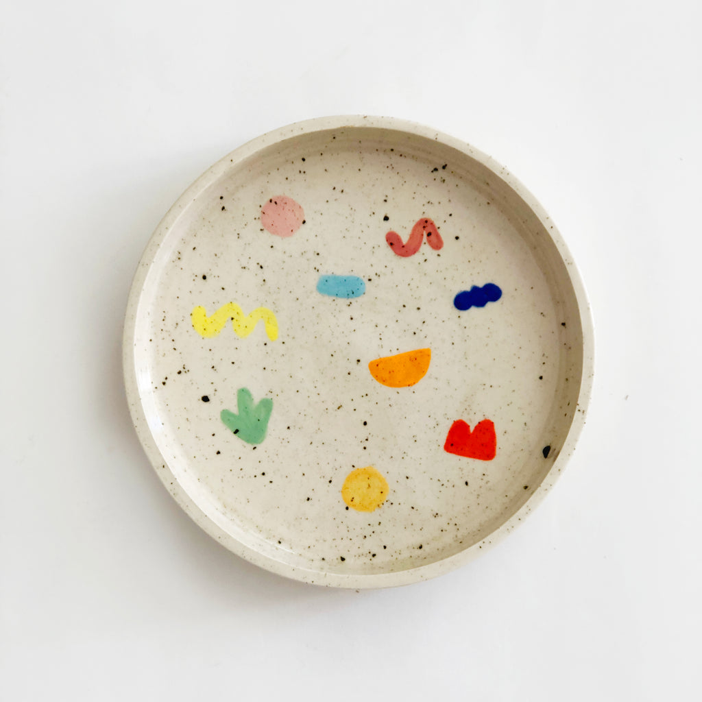 Little Shapes Sprinkles Plate