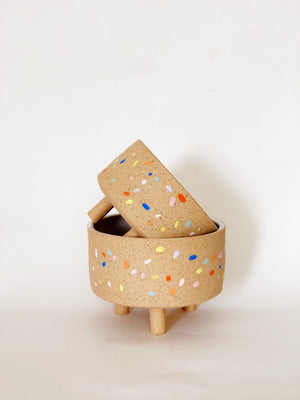 Sprinkle Bowl with Legs (SET)