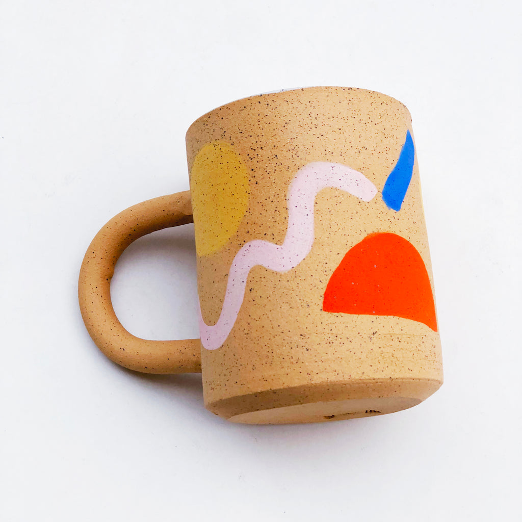 Large Weekend Speckle Mug