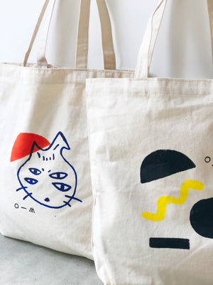 Little Four Eyes Tote Bag