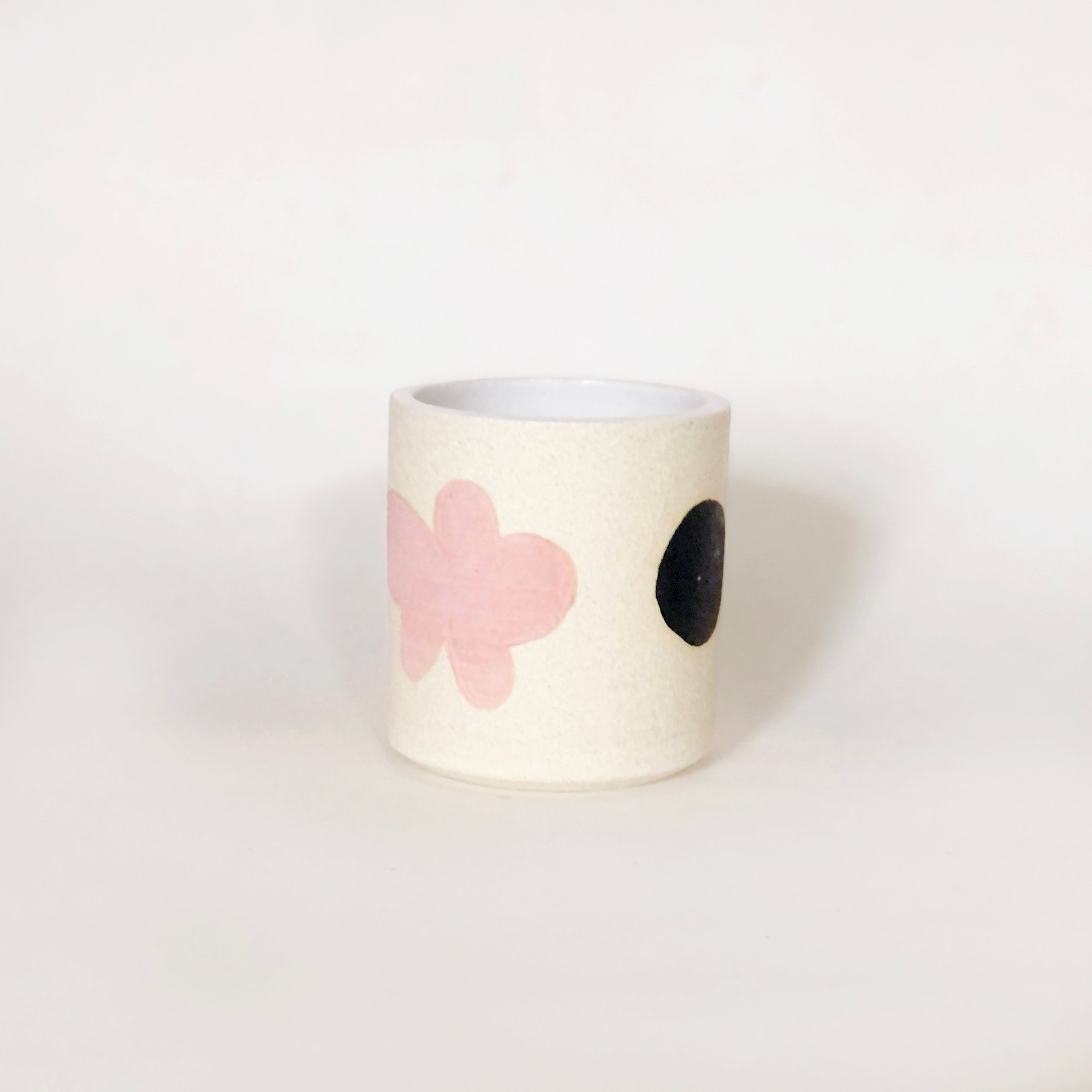 Hand Painted White Cup