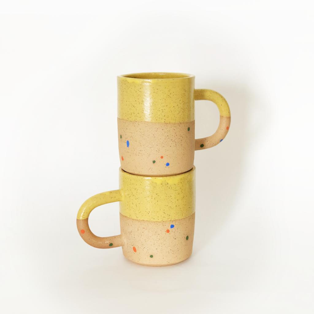 Sunflower Sprinkles mugs