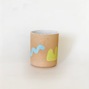 Hand Painted Speckles Cup