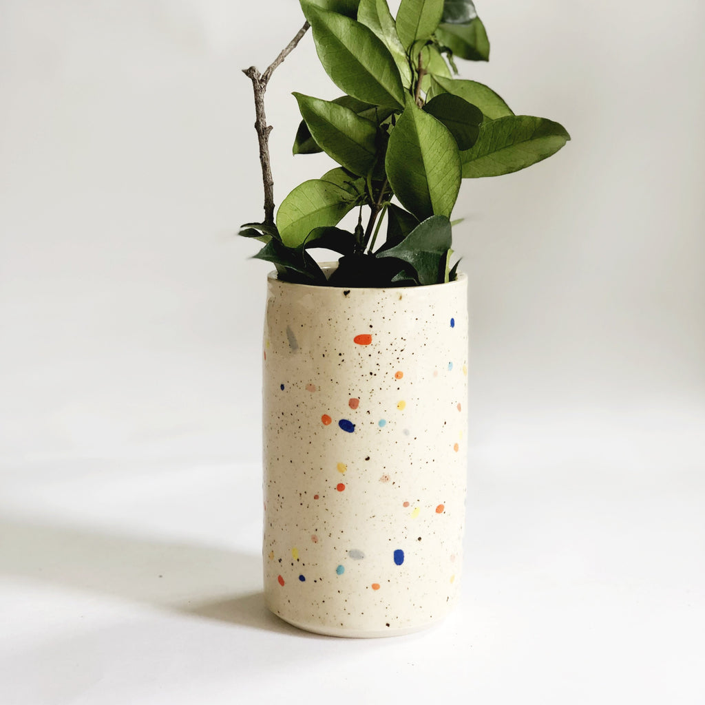 Double Sprinkles Vase