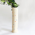 "Sprinkles Tall (13.5"") Tube Vase"