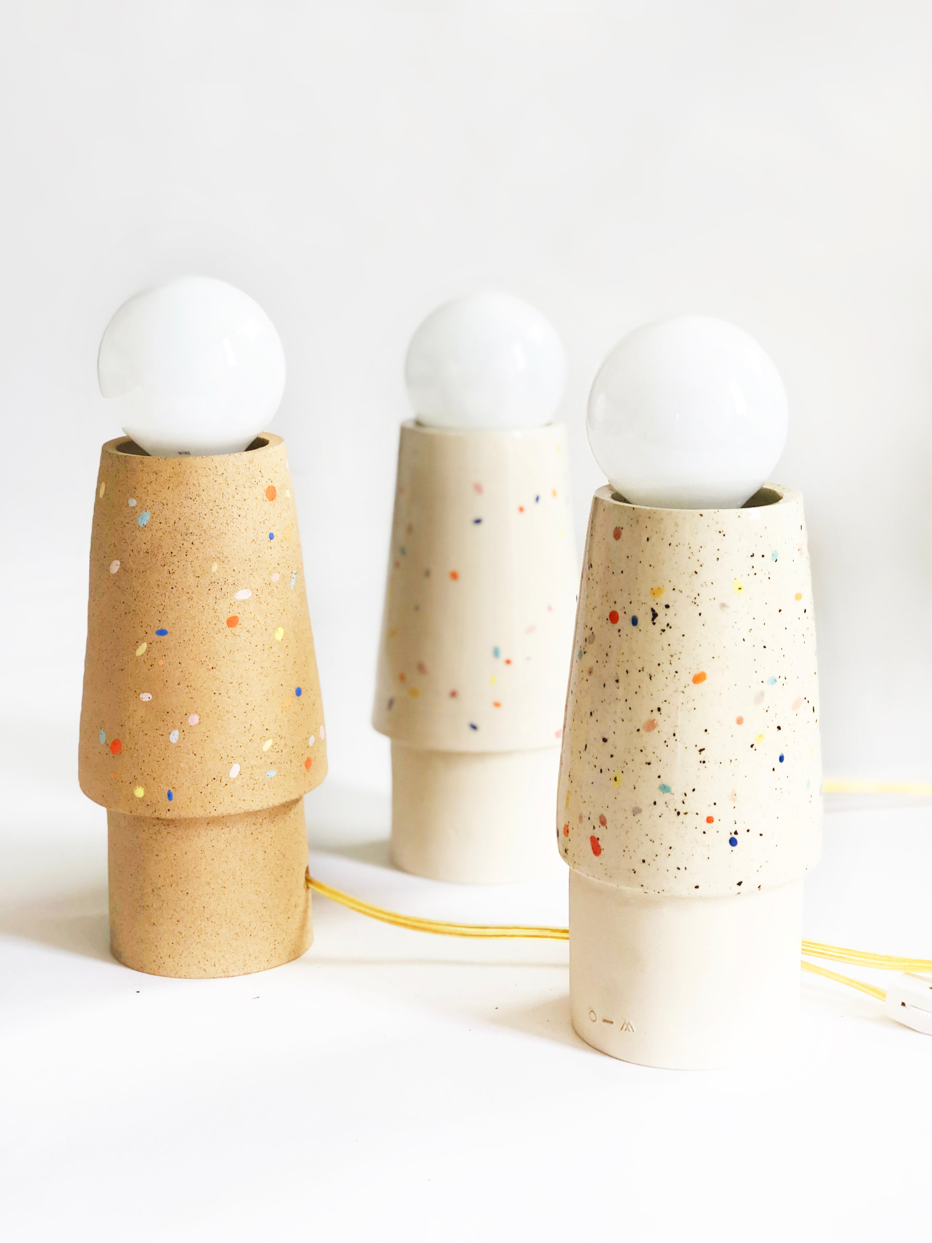 Double Sprinkles Table Lamp