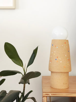 Sprinkles on Speckle Table Lamp