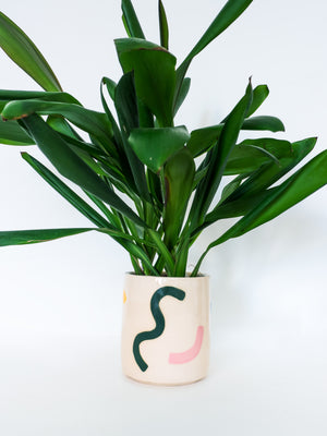 Explorer Painted Design Planter