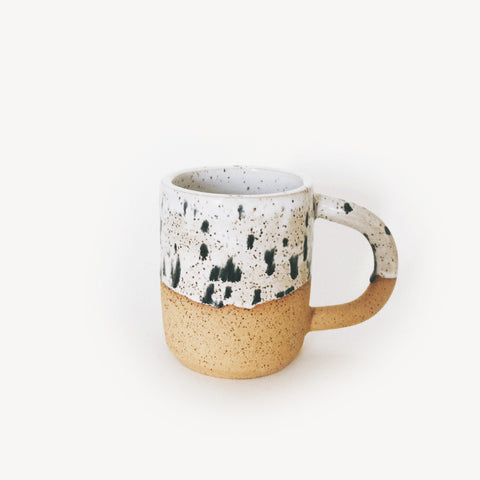 Large Black Dots Speckle Mug